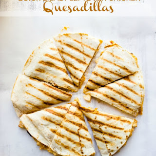 Quick and Easy Leftover Chicken Quesadillas