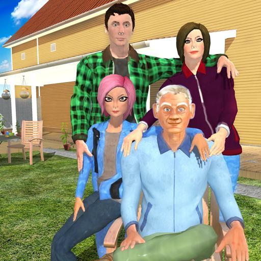 Virtual Grandpa Family Simulator