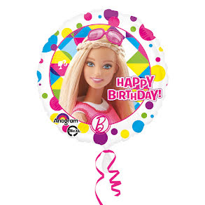 Folieballong, Barbie