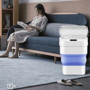 Cos de gunoi smart pliabil, cu senzor de miscare, 8L-17.5L