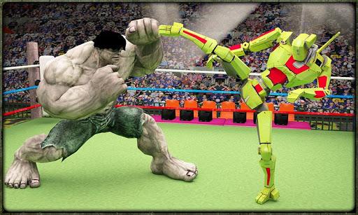 Incredible Monster Superheroes Ring Battle  screenshots 5