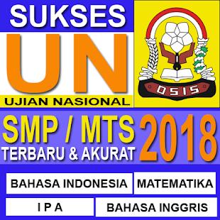 Soal UN SMP MTS 2018 (UNBK) - Terlengkap - náhled