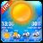 Temperature&weather app ☀️ Icône