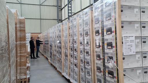 Epson's warehouse facility in Linbro Park.