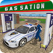 Gas Station Police Car Services: Gas Station Games
