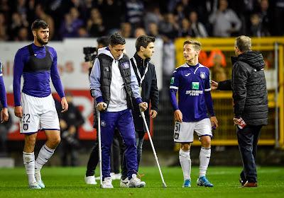 Pech voor Anderlecht: Samir Nasri weken out met scheur in de hamstrings
