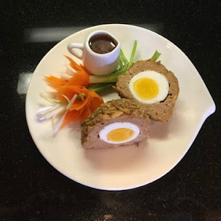 Baked Scotch Style Eggs Spicy Turkey Asian Style