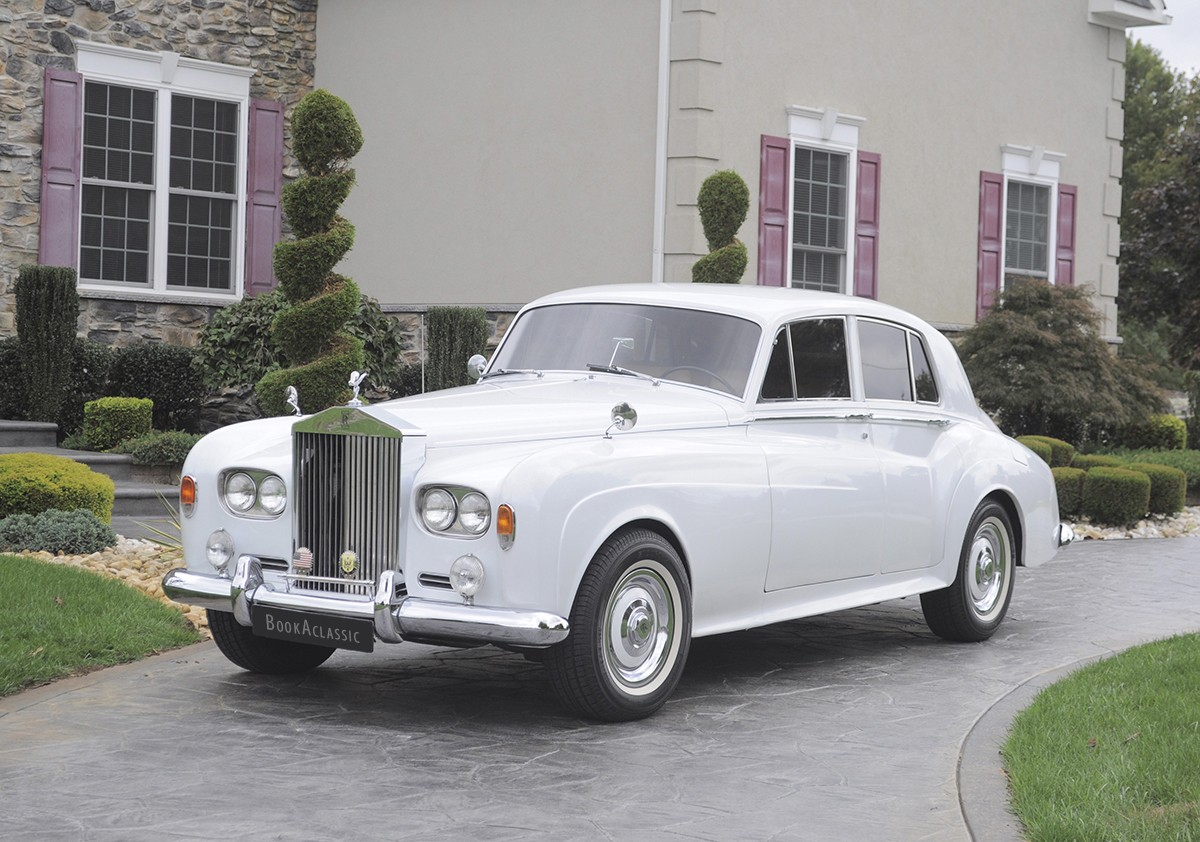 Rolls-Royce Silver Cloud Hire Riverside