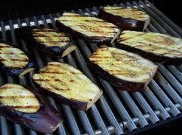 Brush both sides of eggplant with butter mixture and grill 6 to 7 minutes....