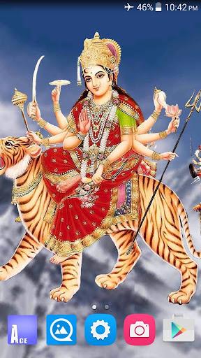 4D Maa Durga Live Wallpaper 8.5 screenshots 1