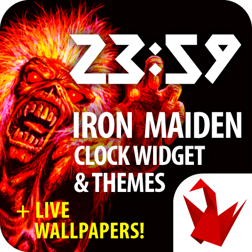 Iron Maiden Clock Widget And Themes - Apps on Google Play