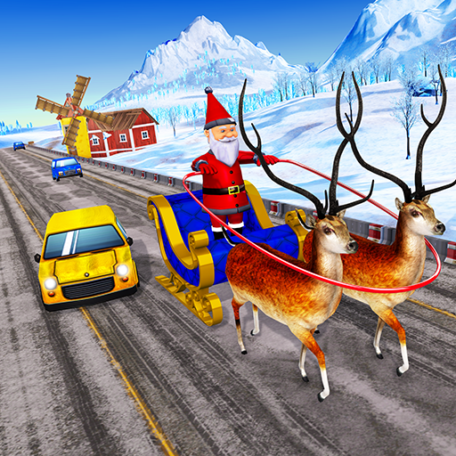 Highway Racing 2019: Santa Christmas Games
