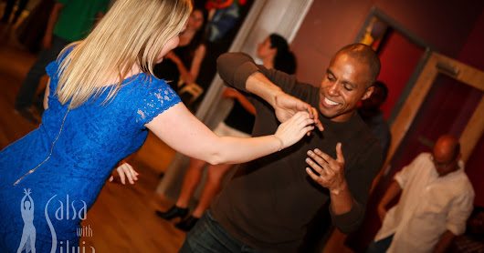 The Very First Salsa With Silvia Social - May 20, 2016