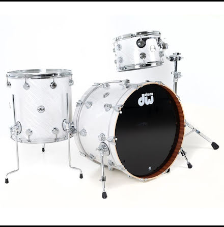 DW Collector's Contemporary Classic - Twisted White
