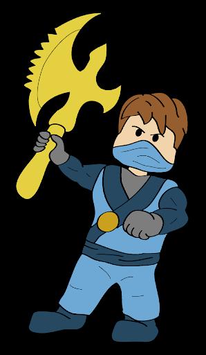 How to Draw Jay Blue NinjaGo