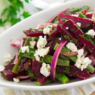 Roast Beet and Green Bean Salad.