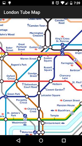Tube Map: London Underground screenshot