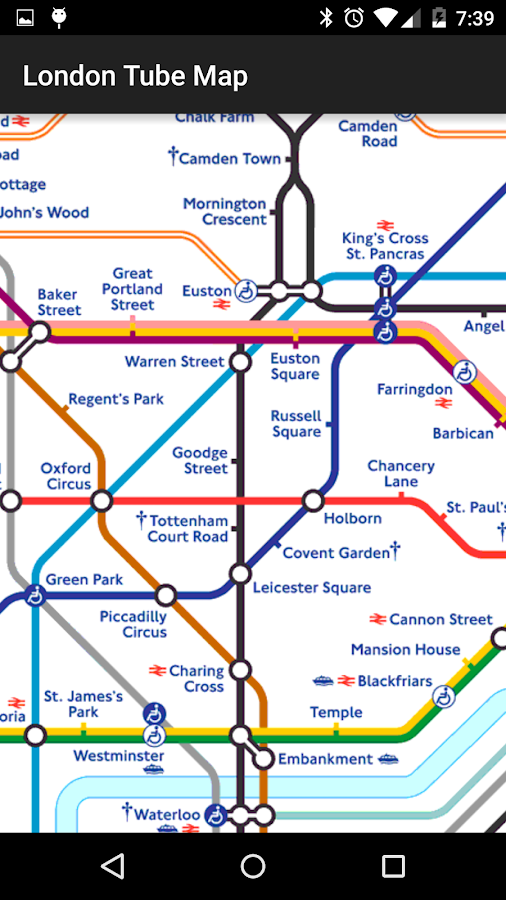 Tube Map: London Underground- screenshot