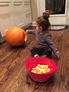 Child Pumpkin Carving