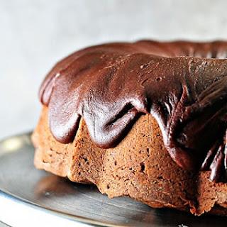 Chocolate Pound Cake.