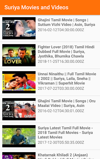 SURIYA Movies -Videos Songs screenshots 2