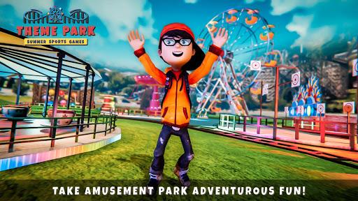 Theme Park- Summer Sports Games  screenshots 1