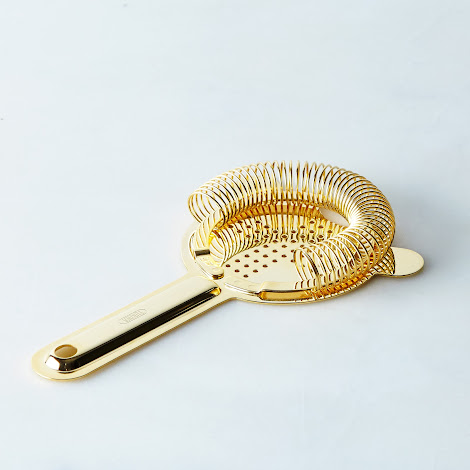 Gold Japanese Cocktail Strainer