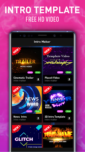 Intro Maker - Video Editor, Effects, Music, Vlog Hack