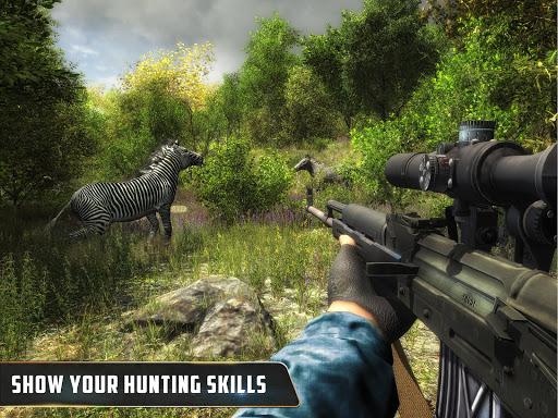Animal Hunter : Jungle Sniper Shooting apktram screenshots 13