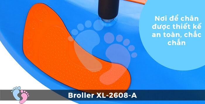 Xe lắc cho bé Broller XL-2608A 9