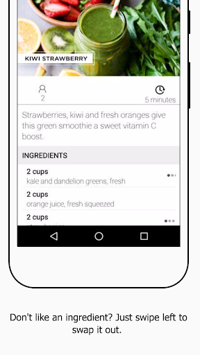 Screenshot for Daily Blends: Simple Green Smoothies in United States Play Store