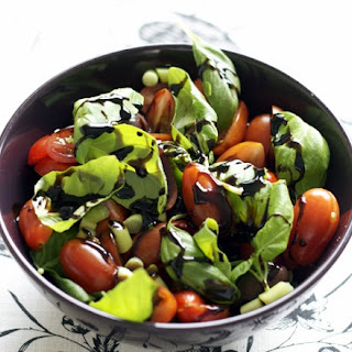 Tomato Basil Salad With Balsamic Vinegar Recipes