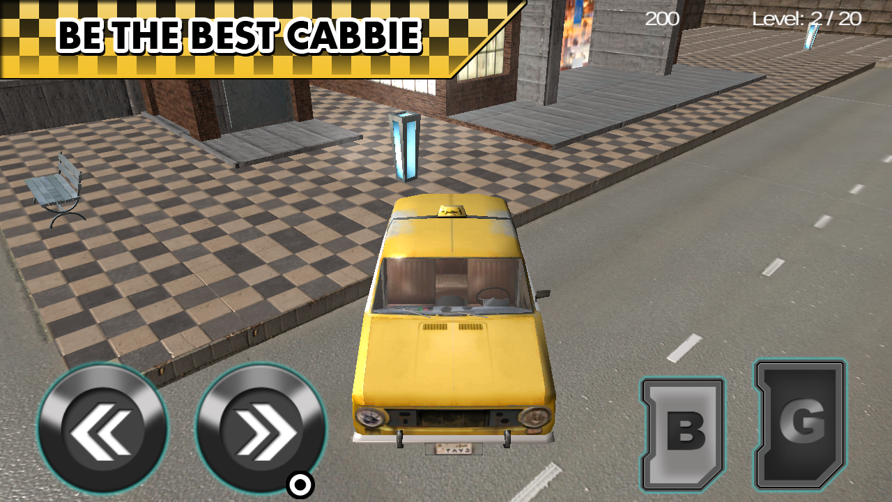 Taxi Driver City Parking- screenshot