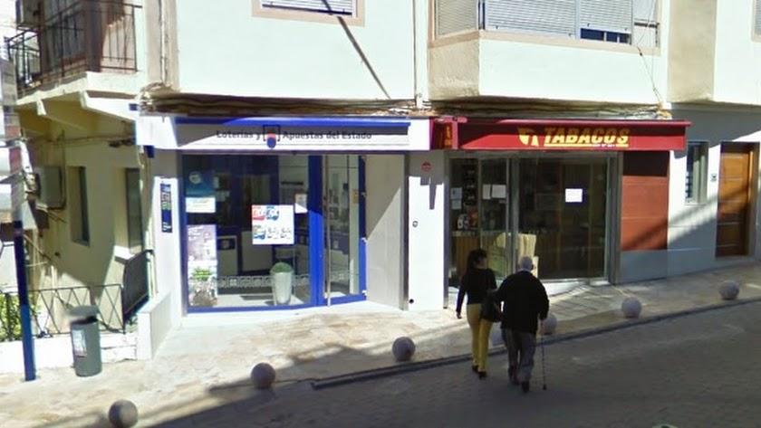 La Administración de Loterías que ha dado los cientos de miles de euros en Albox.