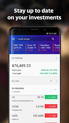 Yahoo Finance: Real-Time Stocks & Investing News 5.1.0 screenshots 5