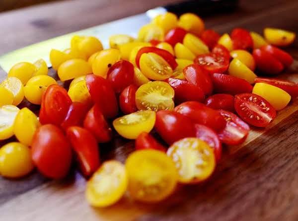 Buttermilk Cherry Tomato Salad