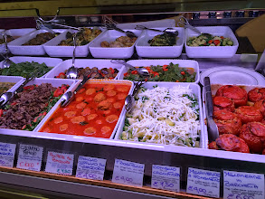 Photo: Fresh ingredients at Volpetti Piu pizzeria