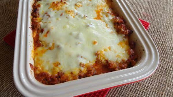 Spaghetti Squash Lasagne Recipe
