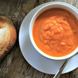 Orange Carrot Ginger Soup