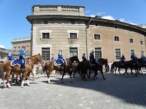 Photo: Stráže před královským palácem (Stockholm, Švédsko)