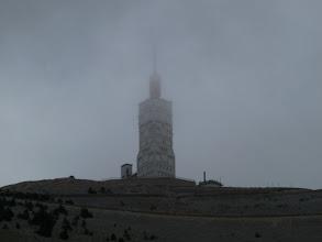Photo: et son immense antenne