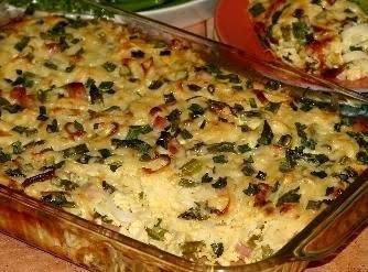 Asparagus, Ham, Pasta Bake Recipe