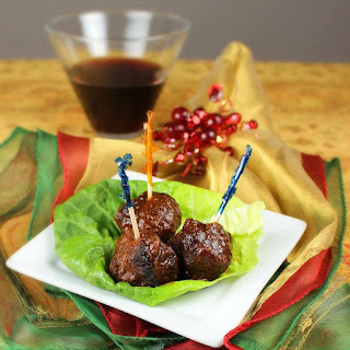 Holiday Meatballs (AKA Grape Jelly Meatballs).