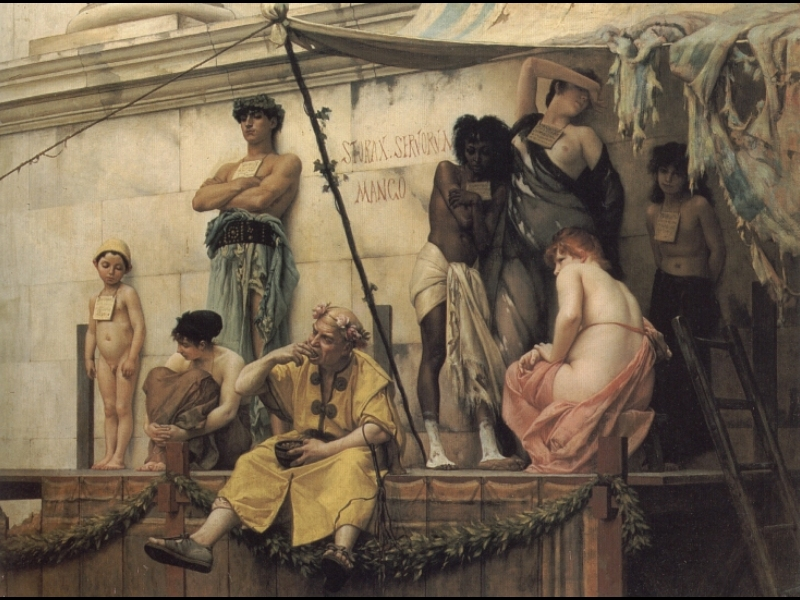 Photo: The Slave Market