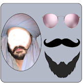 Turban Balochi Photo Editor: Beard Mustache Styles