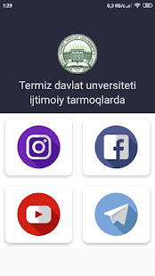 Download Termiz davlat universitetining mobil ilovasi For PC Windows and Mac apk screenshot 8