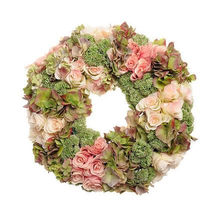 Krans Blommor Mix 50 cm