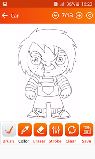 How To Draw Killer Chucky (killer chucky game 2) - náhled