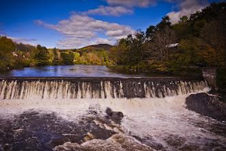 Photo: Queechee River Falls, Taftsville