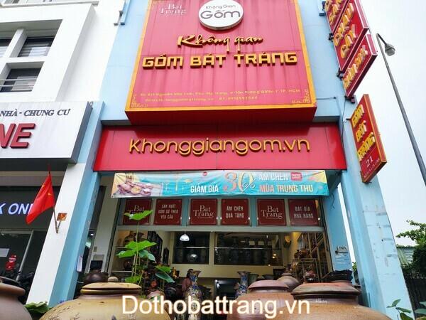 Cửa hàng Không gian gốm Bát Tràng quận 7
